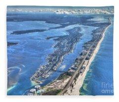 Ono Island-5112-tm Fleece Blanket