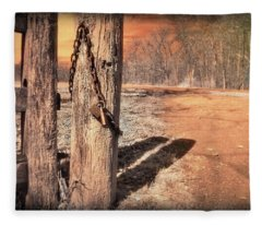 Open Locked Fleece Blanket