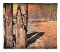 Open Locked Fleece Blanket