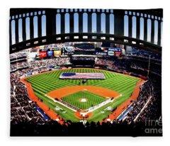 Opening Day Yankee Stadium Fleece Blanket