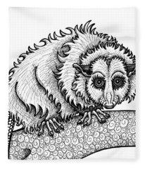 Opossum Fleece Blanket