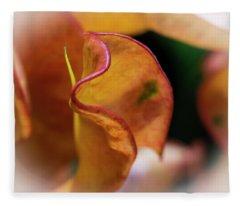 Orange Croton Fleece Blanket