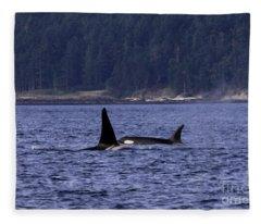 Orca J Pod Buddies Fleece Blanket