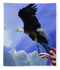 Our Glory Fleece Blanket