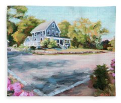 Our Haven In May Fleece Blanket