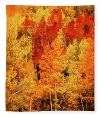 Sangre De Cristo Tapestry Fleece Blanket