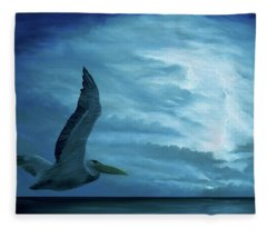 Out Of The Blue Fleece Blanket