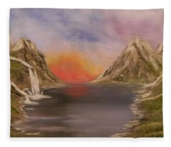 Outpouring Of Hope Fleece Blanket