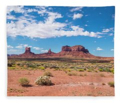 Outside The Park Fleece Blanket