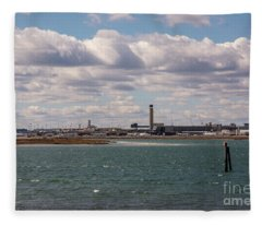 Outskirts Of Boston Fleece Blanket