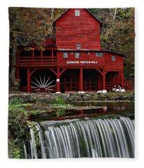 Ozarks Mill Fleece Blanket