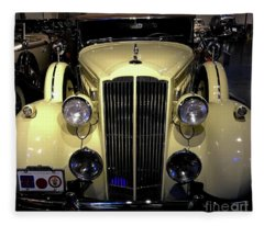 Packard 1934 Touring Coupe Fleece Blanket