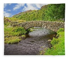Packhorse Bridge, Lake District Fleece Blanket