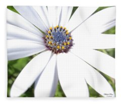 Page 13 From The Book, Peace In The Present Moment. Daisy Brilliance Fleece Blanket
