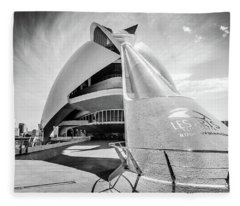 Palau De Les Arts Fleece Blanket