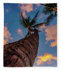 Palm Upward Fleece Blanket