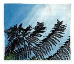 Palms Flying High Fleece Blanket