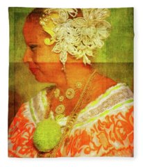 Panamanian Beauty Fleece Blanket