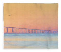 Panel 3, 30 Wide X 29 High Fleece Blanket
