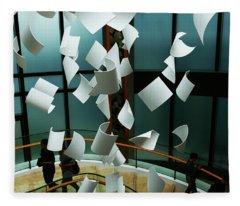 Papers Fleece Blanket