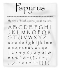 Papyrus - Most Wanted Fleece Blanket
