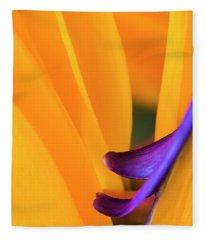 Paradise Bird Fleece Blanket