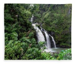 Paradise Falls Fleece Blanket