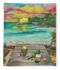 Paradise Fleece Blanket