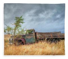 Parked  Fleece Blanket
