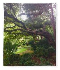 Parsons Gardens Park Fleece Blanket