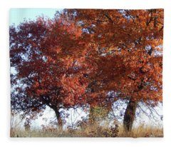 Passing Autumn Fleece Blanket