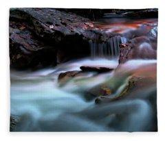 Passion Of Water Fleece Blanket