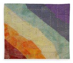 Pastel Color Study Fleece Blanket