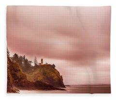 Pastel Seascape Fleece Blanket