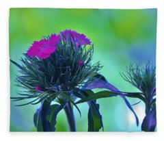 Pastel Spring Fleece Blanket