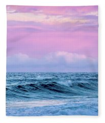 Pastel Summer  Fleece Blanket