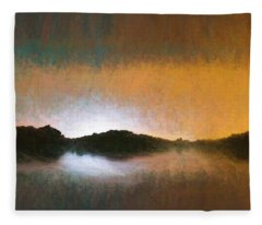 Pastel Water Abstract  Fleece Blanket