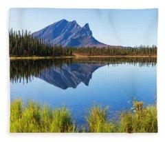 Peaceful Morning Fleece Blanket