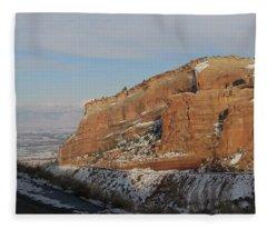 Peak-a-boo Canyon Fleece Blanket