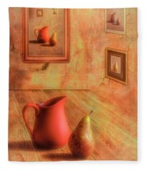 Jug Digital Art Fleece Blankets