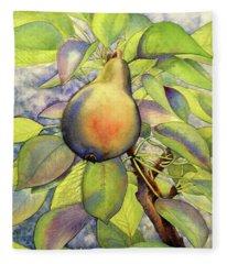 Pear Of Paradise Fleece Blanket