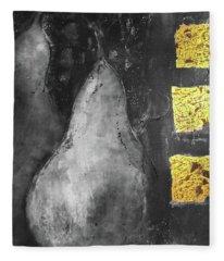 Fleece Blanket featuring the photograph Pears A La Gold  by Andrea Kollo