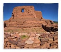Pecos National Historic Park Fleece Blanket