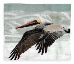 Pelican Glide Fleece Blanket