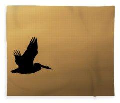 Pelican Fleece Blanket