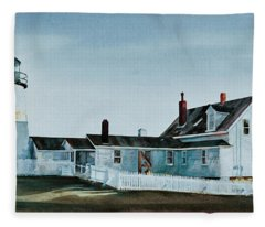 Pemaquid Light Fleece Blanket