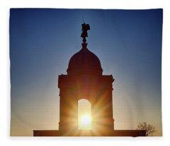 Pennsylvania State Monument Fleece Blanket