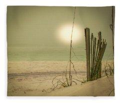 Pensacola Beach Fleece Blanket