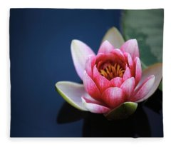 Perfect Lotus Fleece Blanket