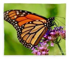 Perfect Monarch Fleece Blanket